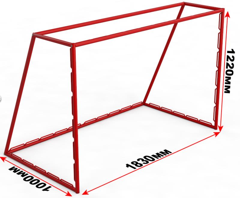 Как сделать футбольные ворота из дерева чертежи